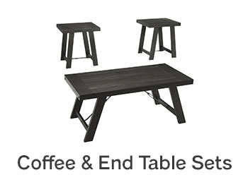 Coffee & End Table Sets